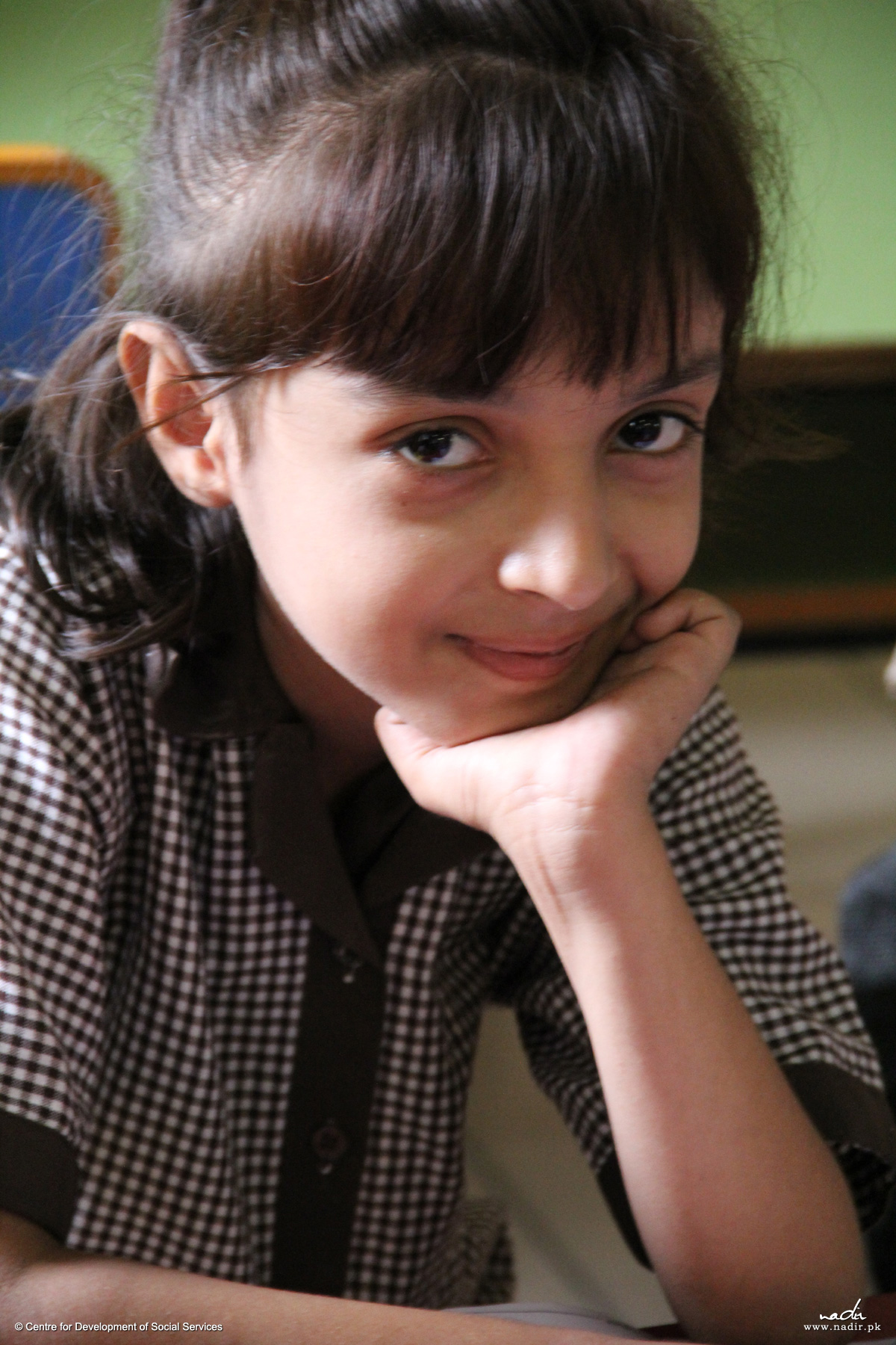 Bright Student at Korangi Academy