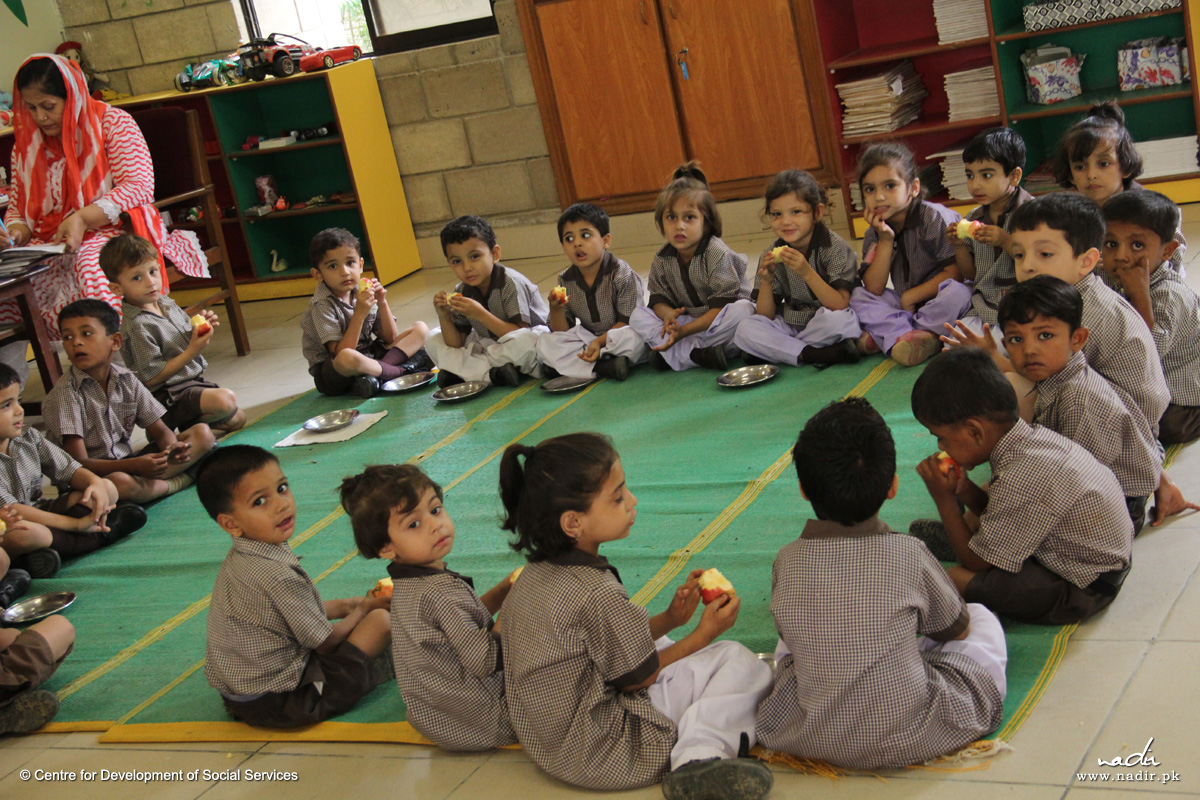 Korangi Academy Free Lunch for all Students