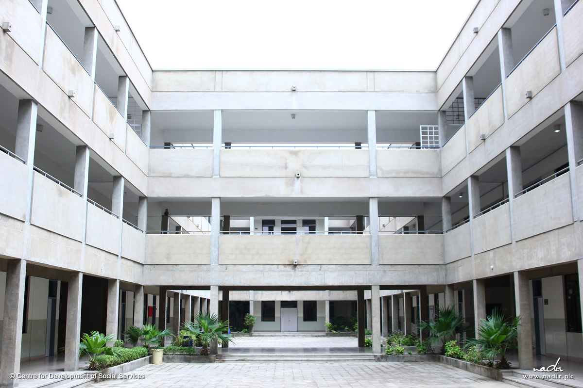 Korangi Academy School Building –Inside View