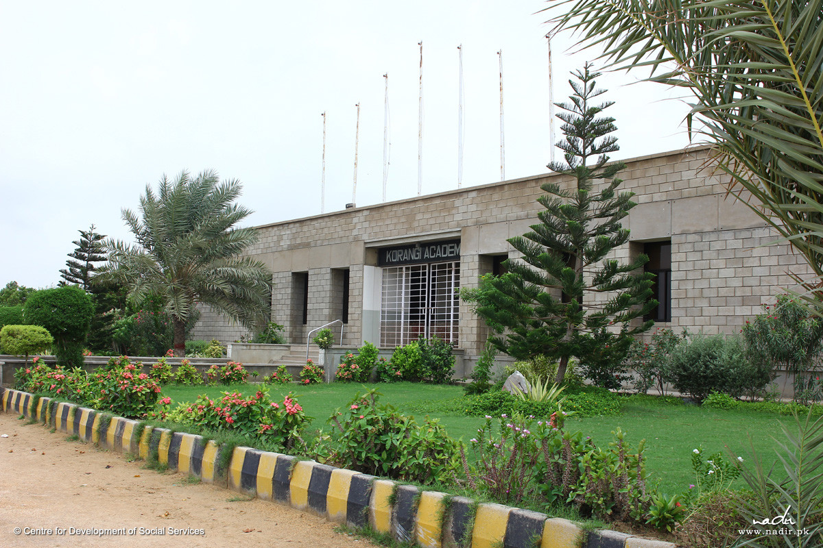 Korangi Academy Front View