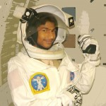 Babar Ali in NASA Space Suit