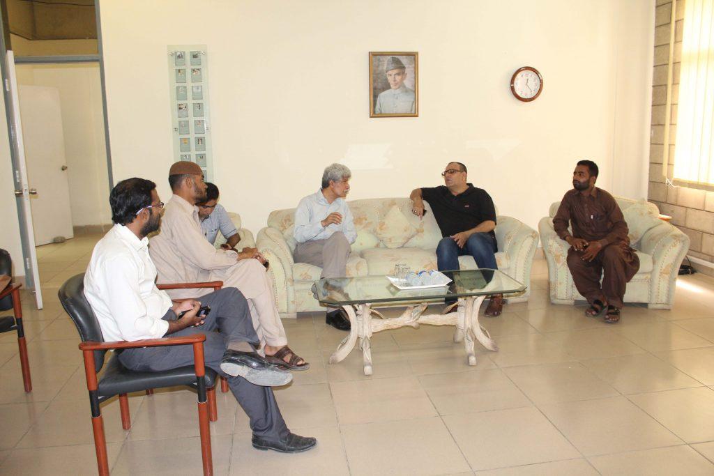 Syed Arshad Waris AC Ibrahim Haidery Visit to KA_1