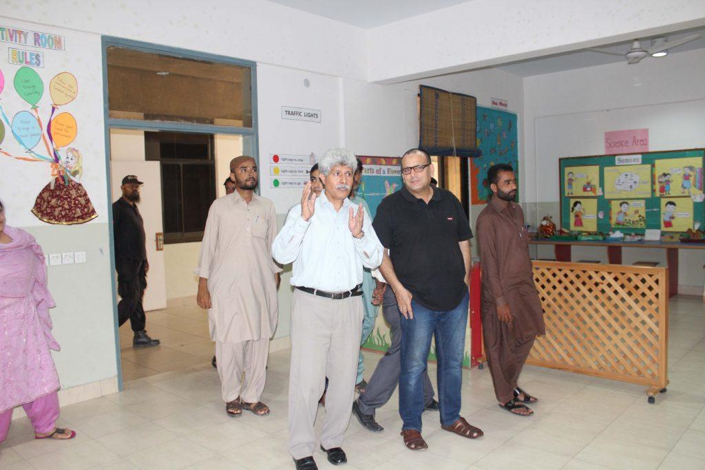 Syed Arshad Waris AC Ibrahim Haidery Visit to KA_3