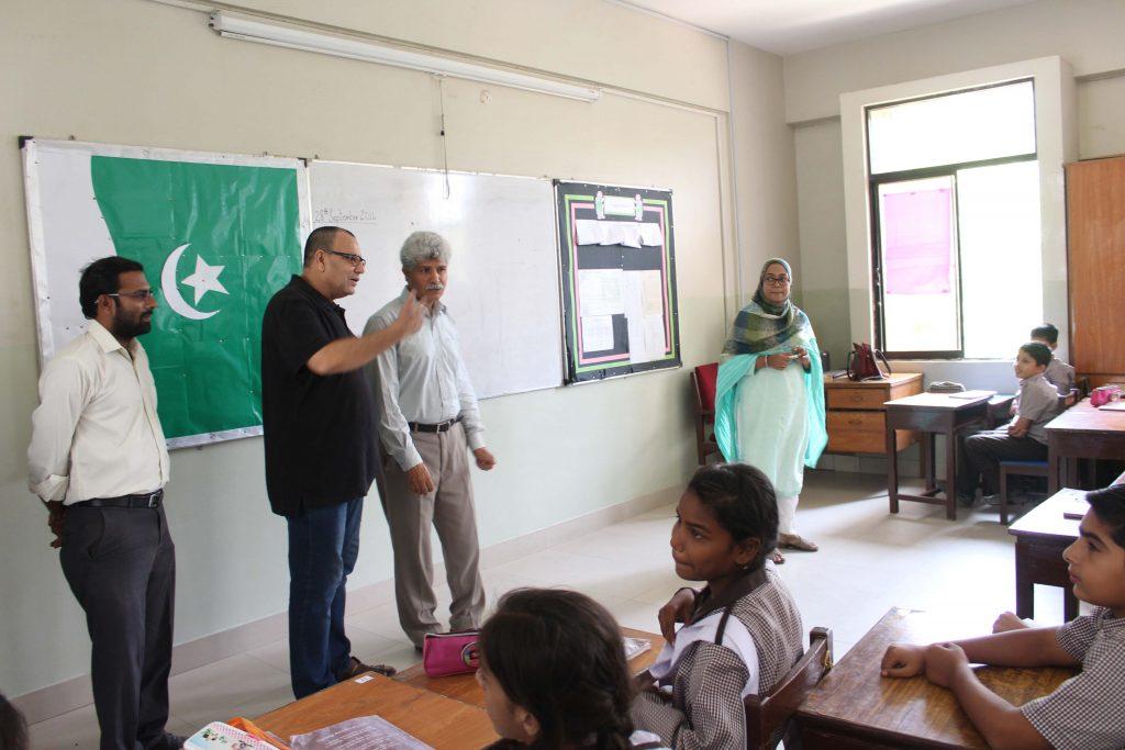 Syed Arshad Waris AC Ibrahim Haidery Visit to KA_4