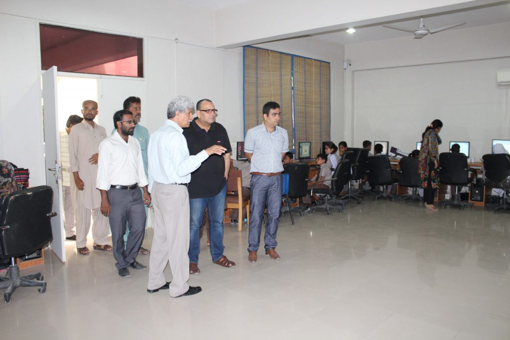 Syed Arshad Waris AC Ibrahim Haidery Visit to KA_5