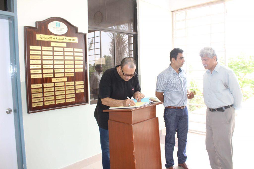 Syed Arshad Waris ACIbrahim Haidery Visit to KA_7